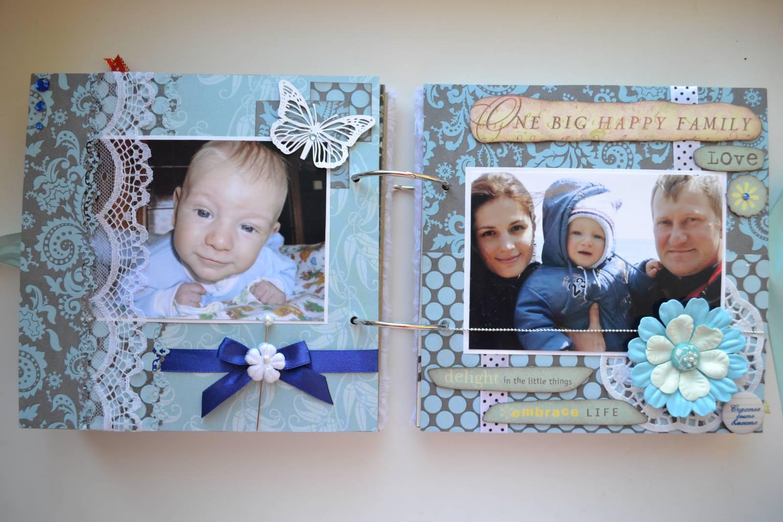 Детский фотоальбом идеи оформления для мальчика